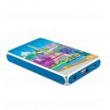 Tragbares Ladegerät 5000mAh - Get The Power 2 Camouflage Blue