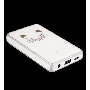 Batteria portatile 5000mAh - Get The Power 2 - White Cat