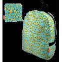 Foldable backpack - Pocket Bag Camouflage Blue