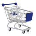 Chariot Mini - Vide-poche Blue