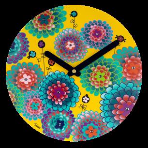 Horloge - Happy Time - Dahlia