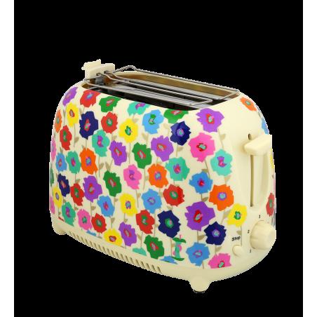 Toaster with UK plug - Tart'in Jardin fleuri