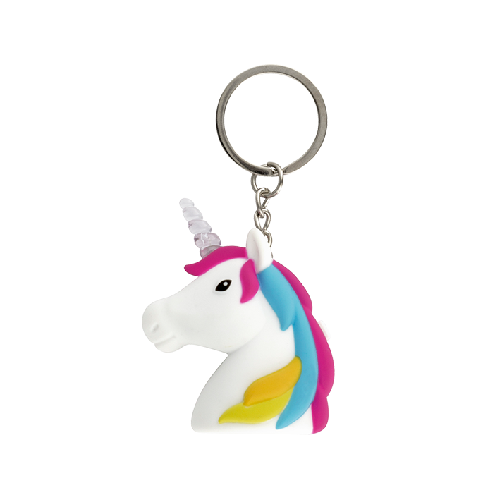 Keyled - Porte clé LED Unicorno