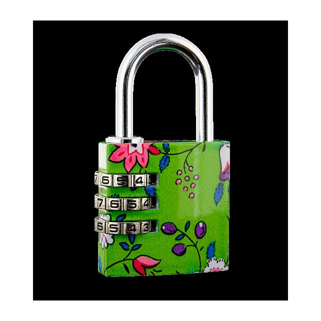 Flower Lock - Cadenas à combinaison Grün