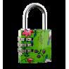 Flower Lock - Cadenas à combinaison Green