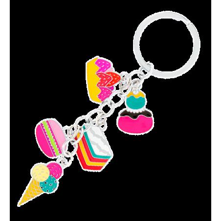 Porte clés - Charms Cœur