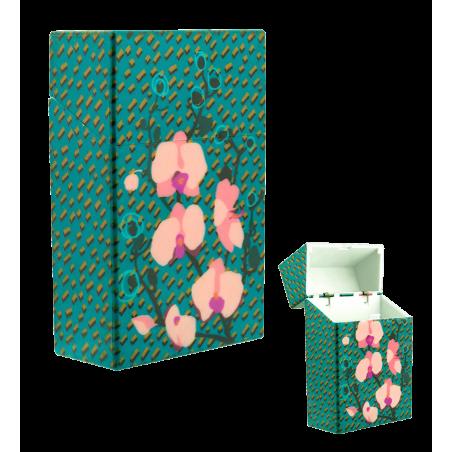 Cigarette case - Clop'in Orchid Blue