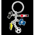 Charms 2 - Porte clés Football