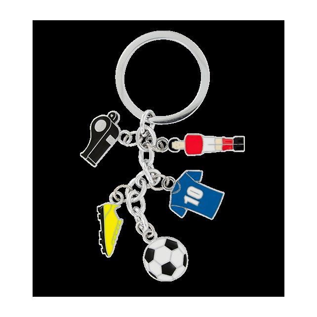 Charms 2 - Porte clés Calcio