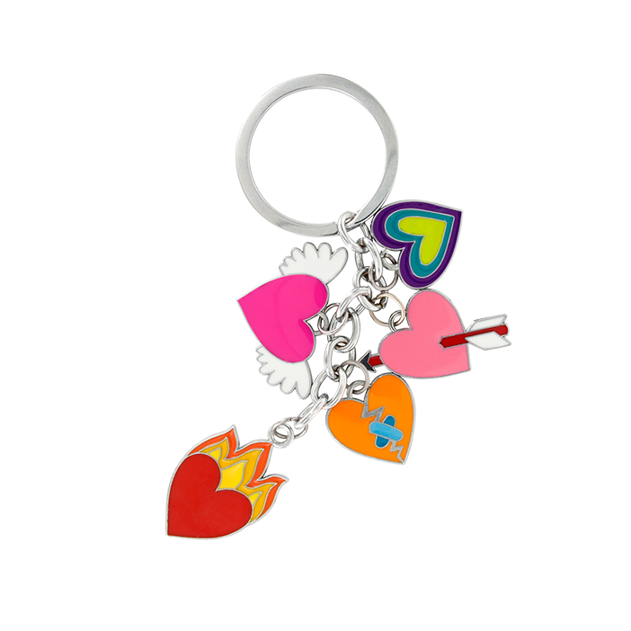 Charms 2 - Porte clés Heart