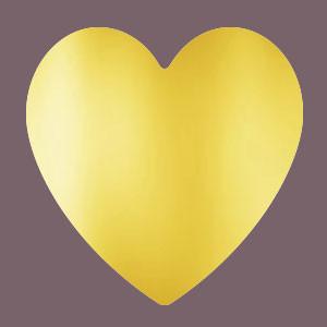 Cœur doré