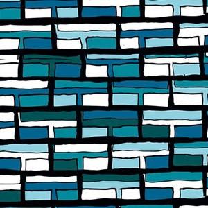Vitrail Bleu