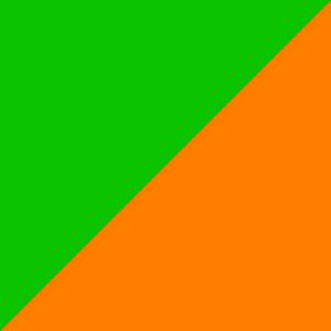 Grün / Orange