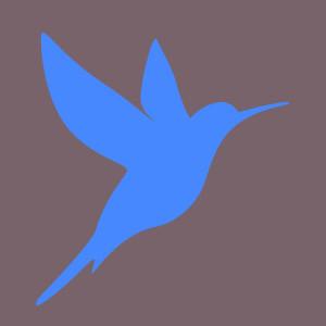 Colibris Bleu