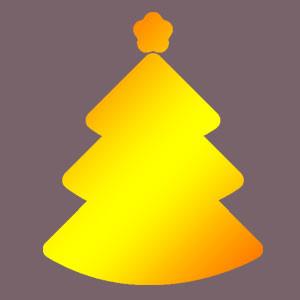 Xmas Tree Gold