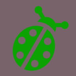 Marienkäfer grün