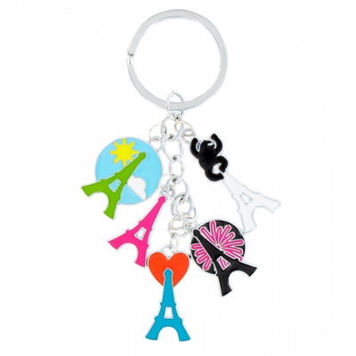 Keyring - Charms 2 Eiffel Tower