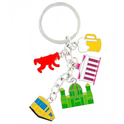 Keyring - Charms City Berlin