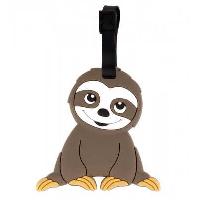 Luggage label - Ani-luggage Sloth
