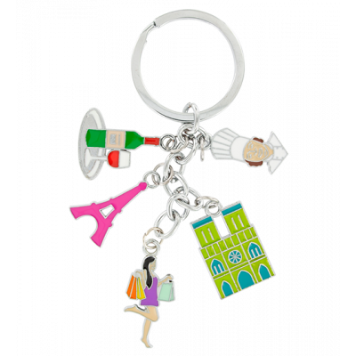 Keyring - Charms City Paris