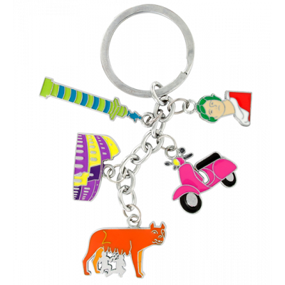 Keyring - Charms City Roma