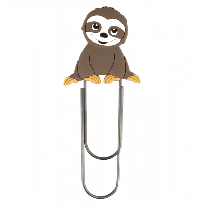 Large bookmark - Ani-bigmark Sloth