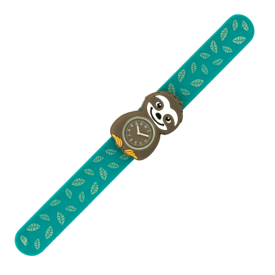 Slap watch - Funny Time Sloth