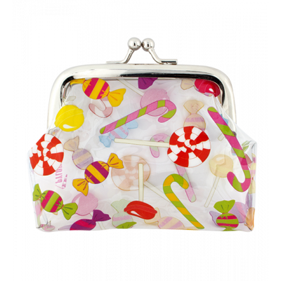 Purse with clasp close - Clipurse Candy
