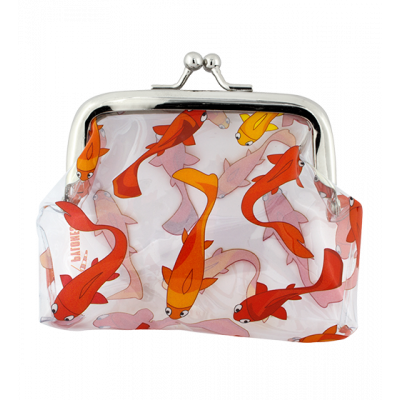 Purse with clasp close - Clipurse Fish