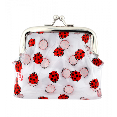 Purse with clasp close - Clipurse Ladybird