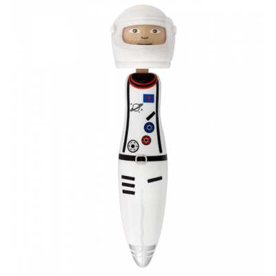 Retractable ballpoint pen - Occupation Pen Astronaute