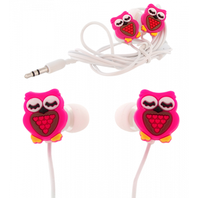 Earbuds - Ecouteurs Chouette