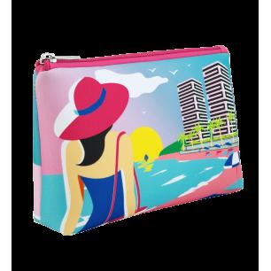 Petite pochette à maquillage - Neopouch Small Rêve de plage