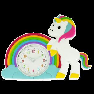 Réveil - Funny Clock Licorne