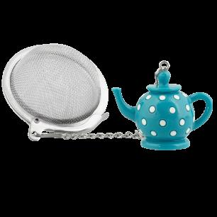 Tea Infuser - Teapot Turquoise