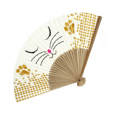 Fan - LHO White Cat