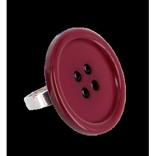 Boutons - Ring Dark red