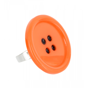 Boutons - Ring Orange