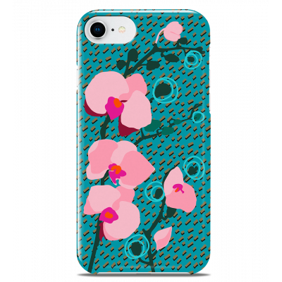 Coque pour iPhone 6S/7/8 - I Cover 6S/7/8 Orchid Blue