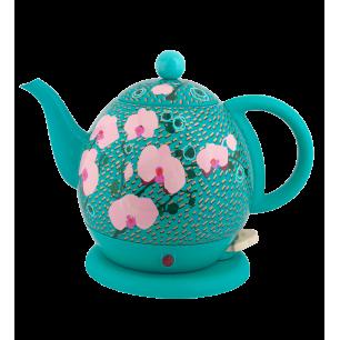 Bouilloire avec prise anglaise - Byzance Orchid Blue