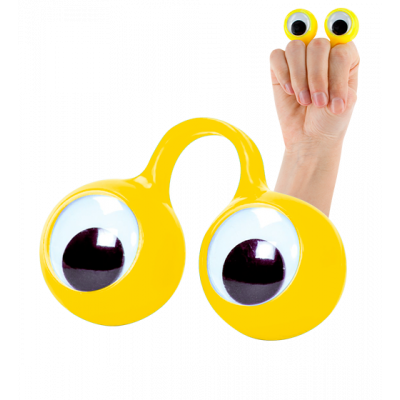Finger Spies - Puppet ring Yellow