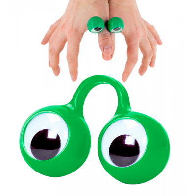 Finger Spies - Puppet ring Green