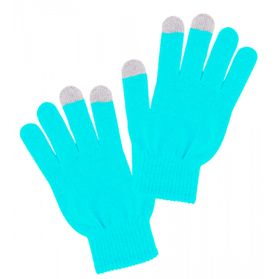 Can't Touch - Tactile gloves Blue
