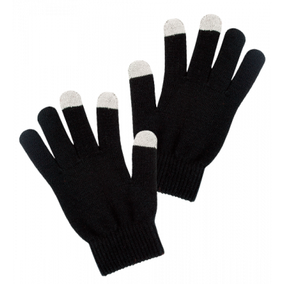 Can't Touch - Tactile gloves Black