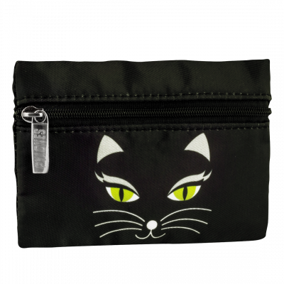 Geldbörse - Mini Purse Black Cat
