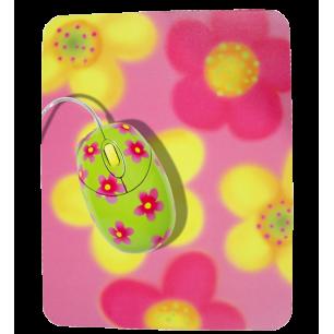 Cyberbug - Maus und Matte Blume