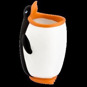 Pencil and pen holder / Toothbrush Holder - Popet Penguin