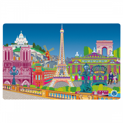 Placemat - Set my city Paris new