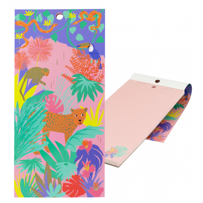 Magnetic memo block - Notebook Formalist Jungle