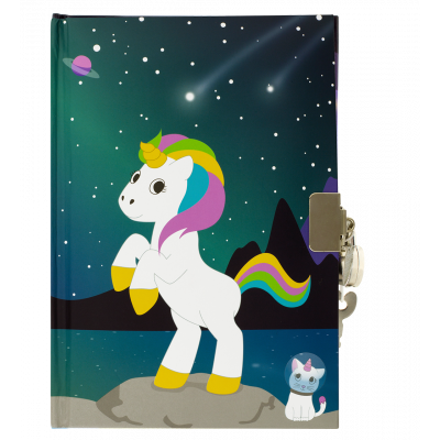 Carnet secret - My secret notes Licorne 2